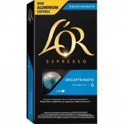 CAFE L`OR CAPSULAS DESCF 10...