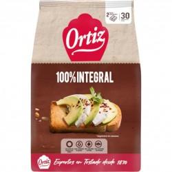 PAN ORTIZ TOSTADO INTEGRAL...