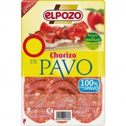 CHORIZO DE PAVO LONCHA...