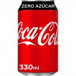 COCA-COLA BOTE ZERO 333 CC