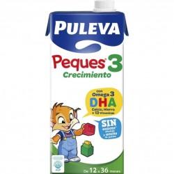 LECHE PULEVA PEQUES 3 BRIK...