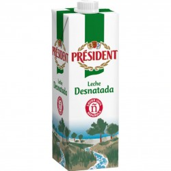 LECHE PRESIDENT DESNATADA...