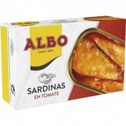 SARDINAS ALBO TOMATE 125 GRS